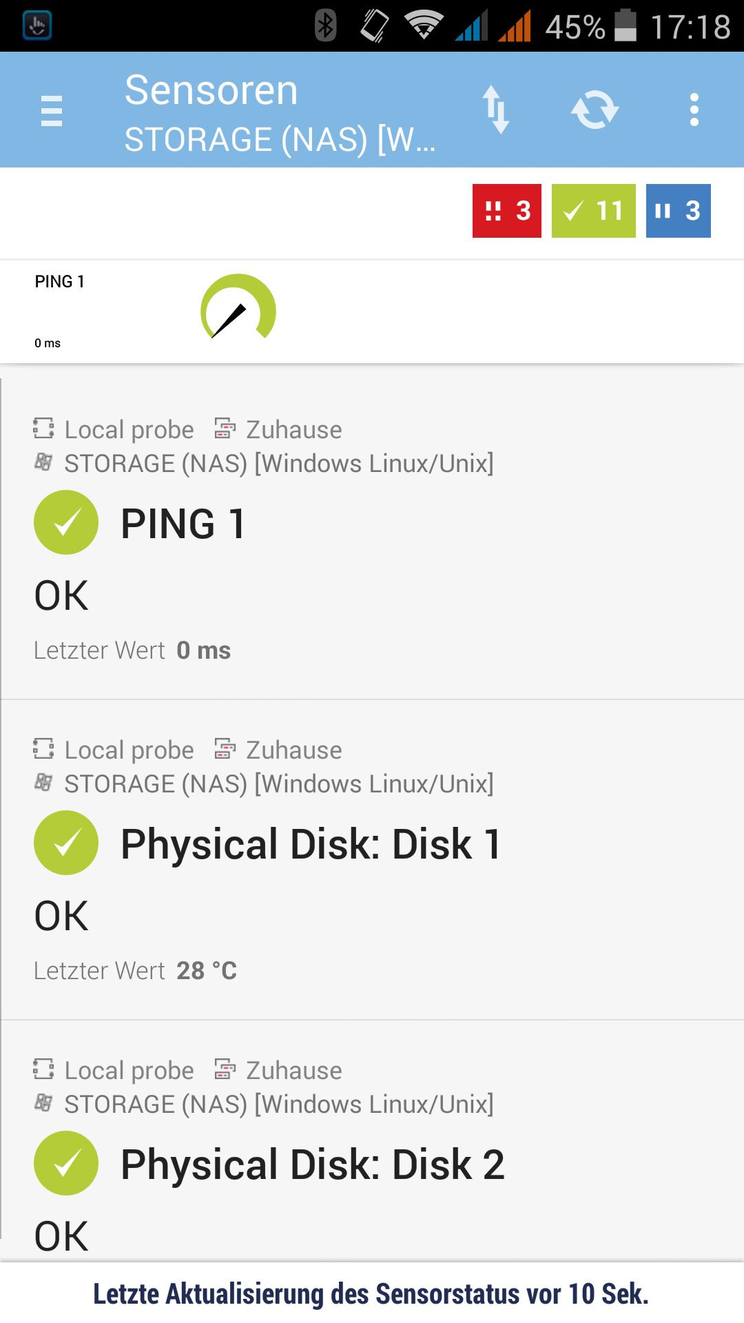 PRTG Client für Android. Der Mobile Begleiter für unterwegs und alle wichtigen Infos in der Tasche!